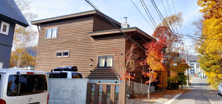 Hirafu cottage project